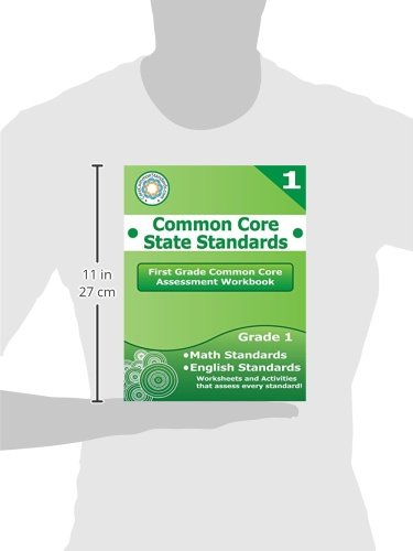 First Grade Math first grade math free worksheets : First Grade Common Core Assessment Workbook: Common Core State ...