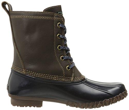 Gh Bas & Co. Kvinna Daisy Regn Boot Choklad / Marinblå