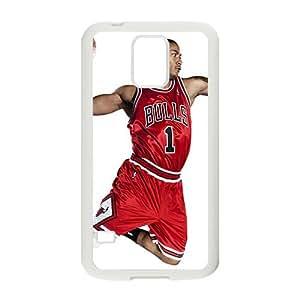Happy Derrick Rose NBA Phone Case for Samsung Galaxy s5