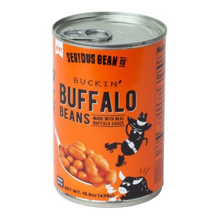 Serious Bean Buckin' Buffalo Beans 15.5 oz (Pack of 6)