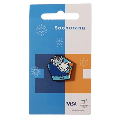 Winter Olympic Pin - 2018 Pyeongchang Winter Olympic Official Licensed Collectible Pin Badge (13. Luge Soohorang)