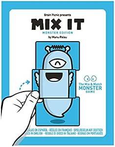 Zacatrus!- Mix it Juego de Mesa, Color Azul y Blanco (Brain Picnic MIX002): Amazon.es: Juguetes y juegos