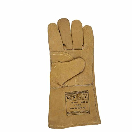 General high temperature 250 degrees heat insulation cutting welding gloves welding fire retardant soft and comfortable labor protection products by LIXIANG (Image #1)