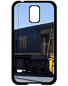 Bettie J. Nightcore's Shop Lovers Gifts 1896794ZH120934950S5 Train Samsung Galaxy S5 Case, Hybrid TPU Rubber Hard Case Cover for Samsung Galaxy S5