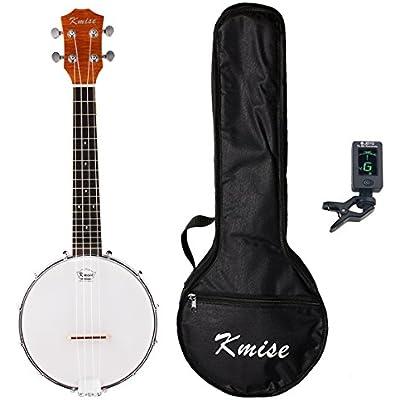 kmise-lgprem-4-string-banjo-ukulele