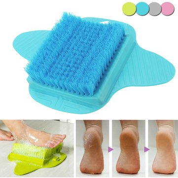 BB-064 Foot Cleaner Scrub Brush Feet Scrubber Washer Shower Clean Brush - Janitorial & Sanitation Supplies Cleaning Brush - (Green) - 1 X Fluff Ball Maker ()