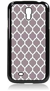 Grey Lattice Pattern- Hard Black Plastic Snap - On Case --Samsung? GALAXY S3 I9300 - Samsung Galaxy S III - Great Quality!