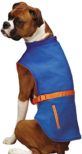 Zack & Zoey Trek Sport Pet Jacket, Medium, Blue Review
