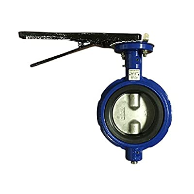 Butterfly Valve | Wafer | Viton Seat | Size 3"