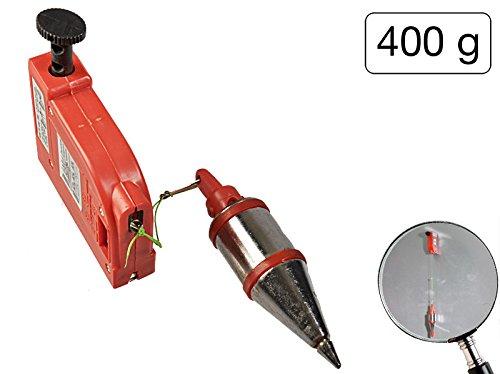 Senklot 400 g + Magnet mit automatischem Einzug und 4, 5 Meter Lä nge MS Warenvertrieb