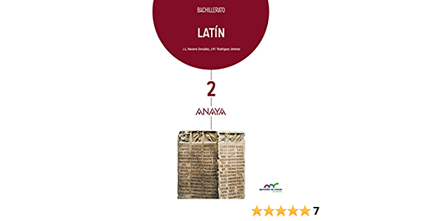 Latín 2. Aprender es crecer en conexión - 9788469813119: Amazon.es: Navarro González, José Luis, Rodríguez Jiménez, José María: Libros