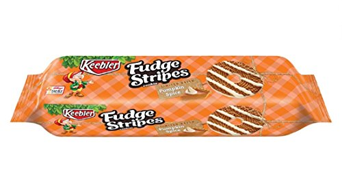 Keebler Fudge Stripes, Pumpkin Spice, 11.5 oz (Pack of 2)
