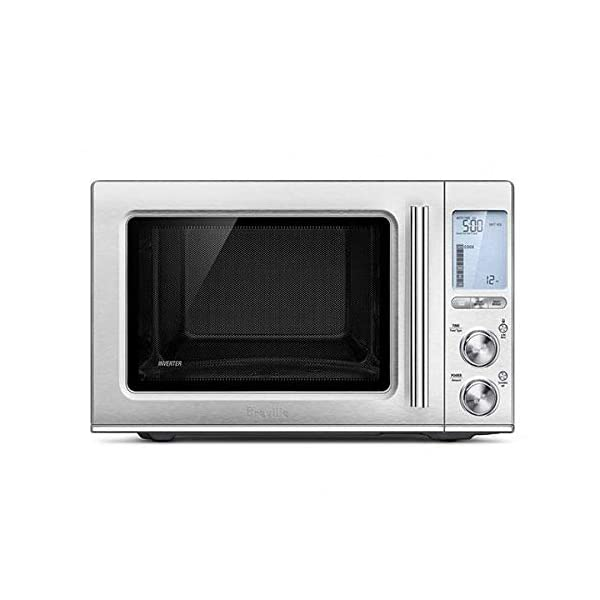 Breville BMO850BSS Smooth Wave Countertop Microwave Oven, Brushed Stainless Steel 1