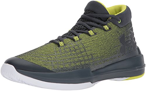 Under Armour Men's NXT,Smash Yellow (772)/Stealth Gray, 12 (Webbed Court)