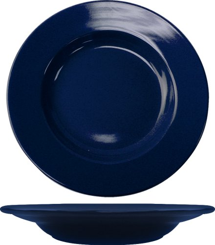 ITI CA-120-CB Cancun 12-Inch Pasta Bowl, 24-Ounce, 12-Piece, Cobalt by ITI (Image #1)
