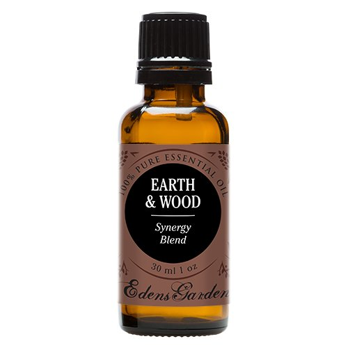 Edens Garden Earth & Wood 30 ml 100% Pure Therapeutic Grade GC/MS Tested (Cedarwood Himalayan, Patchouli, Cedarwood Texas, Vetiver, (Essential Oils Cologne)