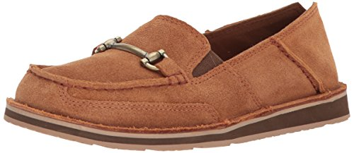 Ariat Women's Bit Cruiser Slip-on Shoe, Chestnut, 10 B US