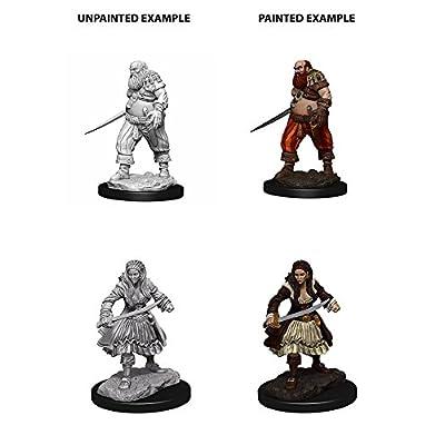 WizKids Deep Cuts Unpainted Miniatures: Wave 4: Pirates: Toys & Games