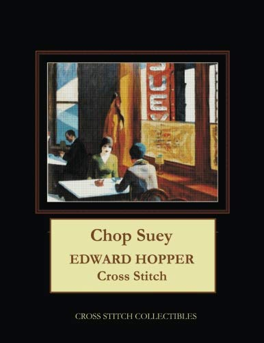 Chop Suey: Edward Hopper Cross Stitch Pattern