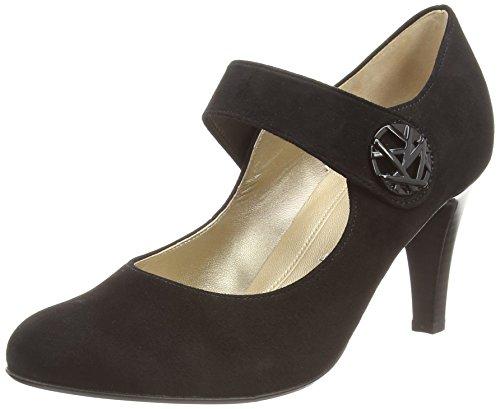 GaborGabor Basic 35.211 - zapatos con cierre al tobillo mujer negro - Schwarz (schwarz (LFS rot) 17)