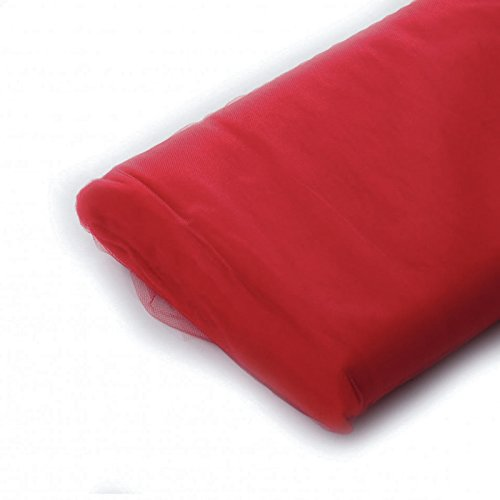 Crimson Bolt Costume (Tulle Fabric - 40 Yards Per Bolt (Crimson))