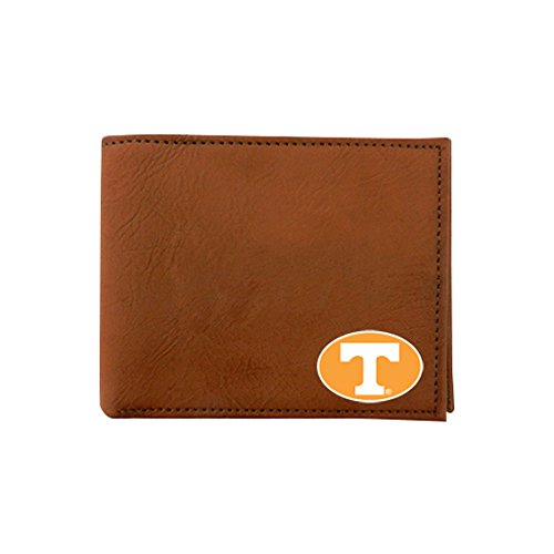 GameWear NCAA Tennessee Volunteers Classic Football Wallet, One Size, Brown