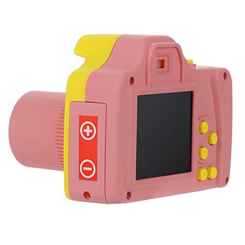 (Children Digital Camera -2.4inch TFT LCD Screen 16MP HD 1280P Camcorder Anti-Shake Face Detection 8X Digital Zoom Digital Point Shoot Camera (Pink, HD Digital Camera))