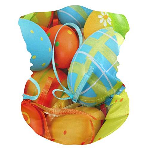 Easter Egg Background Balaclava Headband Scarf Mens BandanaMufflerNeck GaiterMagicFoulard Collars