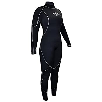 Image of Aqua Lung 5mm Aquaflex Women's Wetsuit Blk/Charcoal Wetsuits