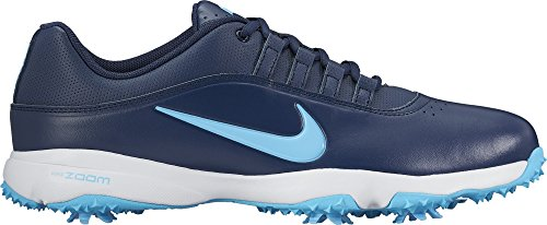 NIKE Men's Air Zoom Rival 5 Golf Shoes, Midnight Navy/Vivid Sky/White, 9 M US