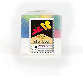 product image for WoolPets Intro Needle Felting Kit with Foam Pad - Bugs