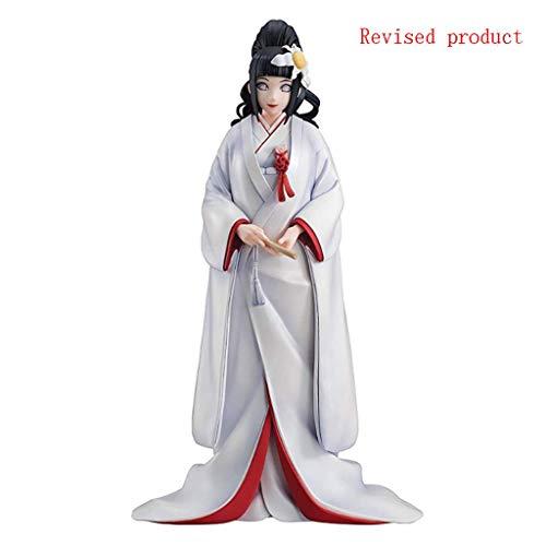 Yang baby Naruto Gals: Hinata Hyuga (Version Mariage) PVC Figure, Multicolor