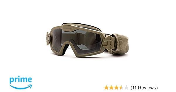 Amazon.com : Smith Optics Elite Outside the Wire Turbo Fan (OTW) Goggles, Tan 499 : Sports & Outdoors