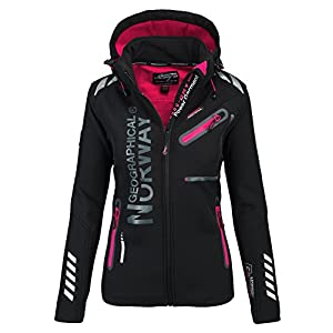 Geographical Norway Femme Softshell fonctions extérieur imperméable Sport