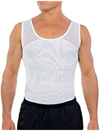 Original Men's Chest Compression Shirt to Hide Gynecomastia Moobs