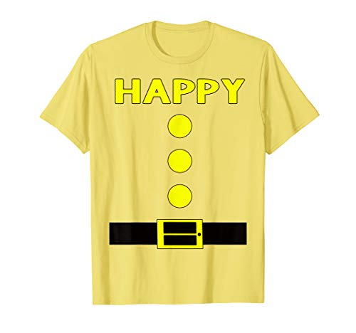 Awesome Halloween Costume Ideas For 2019 (Yellow Happy Dwarf Halloween Costume Gifts Idea Happy Dwarf)