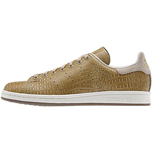 Adidas Originals Stan Smith D67657 St Pale Nudegold Crocodile Tennis Mens Shoes -9326