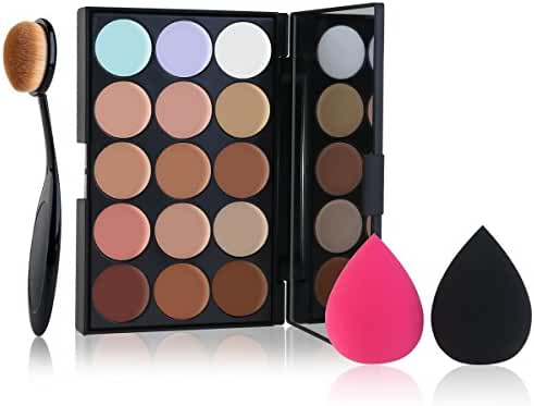 RUIMIO Contour Kit Highlighting Cream Contour Palette 15 Colors