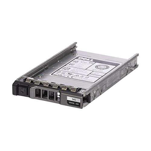 Dell 800GB 6GB/s SATA Mix Use MLC SSD Bundle with Drive Tray - VCRY6 (Renewed) (Solid State Drive Sata Mix Use Mlc)