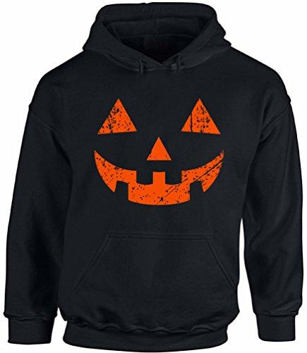 Awkward Styles Unisex Jack O' Halloween Pumpkin Hoodie Hooded Sweatshirts Halloween Horror Funny Tee Black 2XL -
