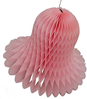 product image for Devra Party 6-Pack 11 Inch Light Pink Tissue Paper Bell