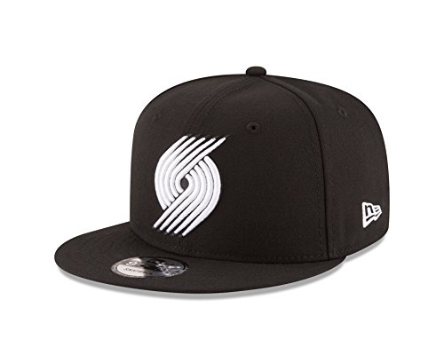- New Era NBA Portland Trail Blazers Men's 9Fifty Snapback Cap, One Size, Black