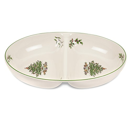 (Spode Christmas Tree Divided Dish)