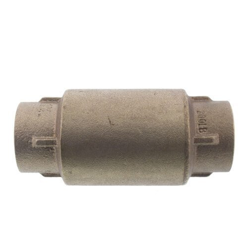 1-1/4'' C x C Bronze In-Line Check Valve, Lead Free (Spring Loaded) by Matco-Norca