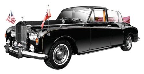 1/43 ロールスロイス ファントムV ステートランドーレット 1967年 クイーンエリザベスII世 1975年 バミューダ TSM124365