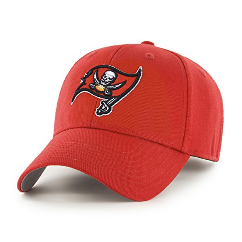 NFL Tampa Bay Buccaneers OTS All-Star Adjustable Hat, Torch Red, One Size
