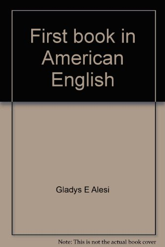First book in American English