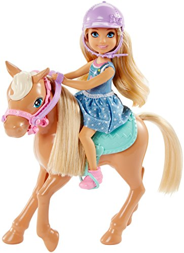 Review Barbie Club Chelsea Doll & Horse