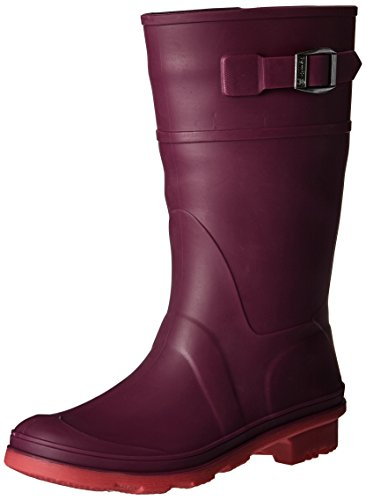 Pictures of Kamik Girls' Raindrops Rain Boot Dark Purple EK4137H 1