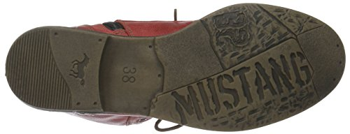 Mustang Damen 1157-508-5 Combat Boots Rot (5 rot)